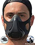 High Altitude Training Mask 16 Breathing Levels Simulation for High Intensity Workouts-Perfect for Running, Biking, Cardio and HIIT Training