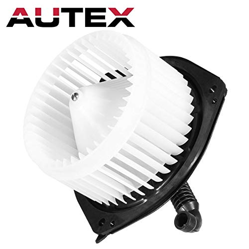 AUTEX HVAC Blower Motor Assembly Compatible with Pontiac Vibe 2003-2008 Heater Blower Motor Air Conditioner with Fan Cage 700160 88973567 PM9243