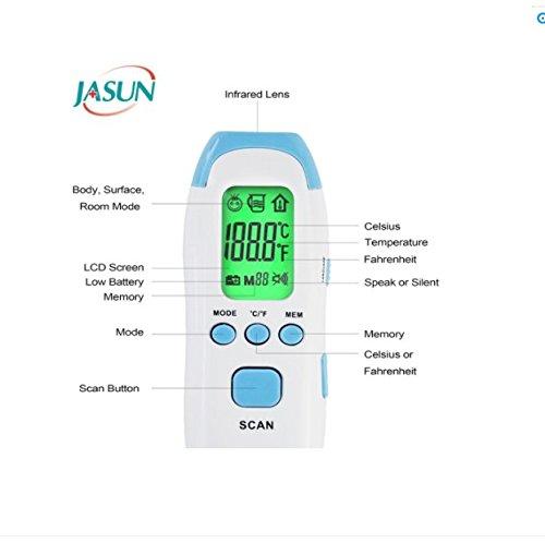 Amazon.com: Baby Termómetro Termómetro digital infrarrojo ...