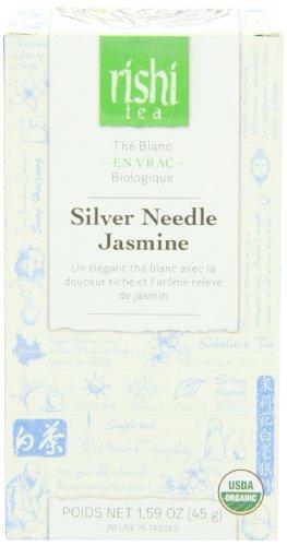 Rishi Tea Silver Needle Jasmine, 1.59 Ounce by Rishi Tea