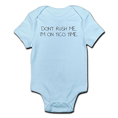 CafePress Tico Time Infant Bodysuit - Cute Infant Bodysuit Baby - Rica Times Tico Costa