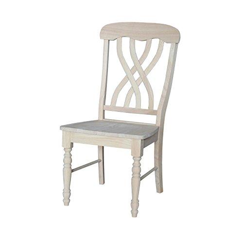 International Concepts Latticeback Chairs, Set of 2