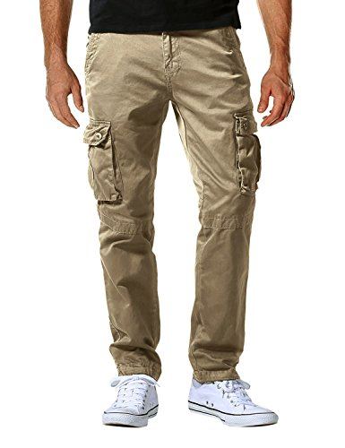 - Match Men's Casual Wild Cargo Pants(42,6057 Khaki)