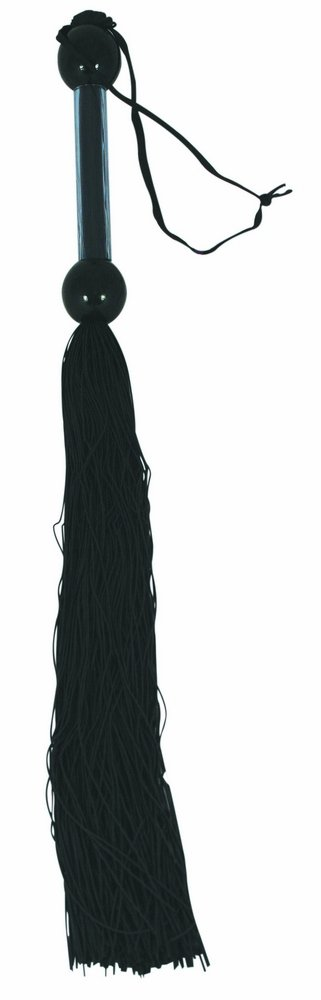 Sportsheets 22'' Large Rubber Whip, Black by Sportsheets