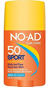 NO-AD SPF 50 Sport Stick