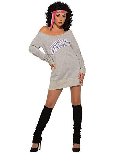 Forum Novelties Officially Licensed Flashdance – 80's Flashdance Costume and Sweatshirt ()