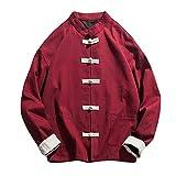Spbamboo Mens Tops Clearance Baggy Linen Long Sleeve Cotton Retro T Shirt Blouse