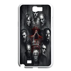 Samsung Galaxy Note 2 N7100 Phone Case White Sons Of Anarchy HCM109646