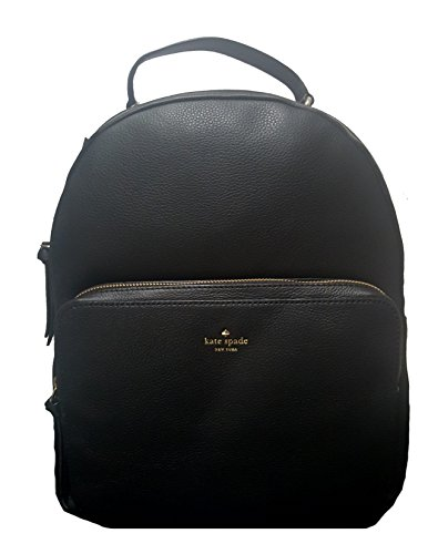 Backpack Nicole (Kate Spade Women's Nicole Larchmont Avenue Black Leather Backpack)