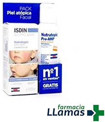 ISDIN NUTRATOPIC PRO - AMP PACK CREMA FACIAL 50ML + GEL EMOLIENTE ...