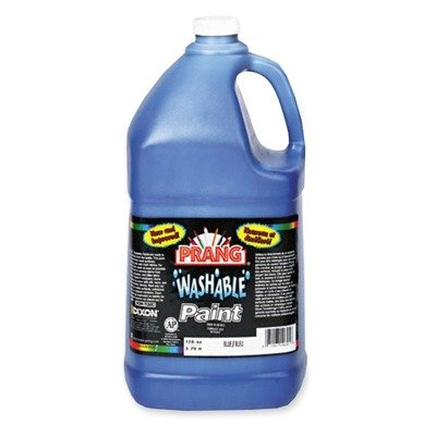 Prang 10605 Prang Washable Paint, Gallon Size, Blue, 1 Unit