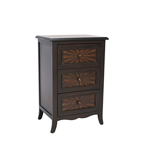 Safavieh American Homes Collection Minster Brown 3-Drawer End Table