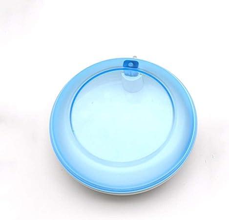 Caso dentadura Bañera, Dental Appliance de contenedores, Dental ortodoncia dental de retención dentadura caja de almacenaje, Dental Los dientes falsos Caja de limpieza, rotación de 360 ° en,Azul: Amazon.es: Hogar