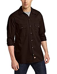 Amazon.com: Brown - Casual Button-Down Shirts / Shirts: Clothing ...