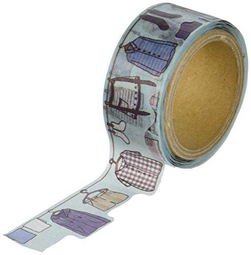 RoundTop Designer's Washi Masking Tape 20mm x 5m, Yano Design Series Natural, Laundry (Yd Masking Tape)
