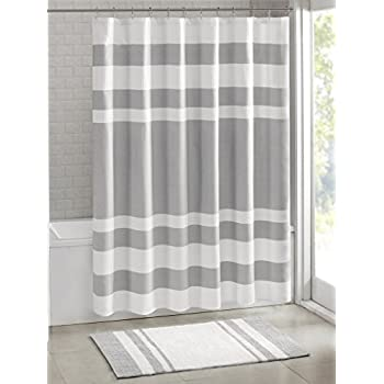 white waffle shower curtain. Madison Park - Spa Waffle Shower Curtain With 3M Treatment Water Repellent \u0026 Stain Resistant White