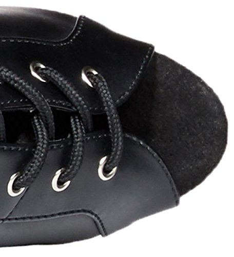 Pleaser DELIGHT-3025, Stivali donna ecopelle nera stretch