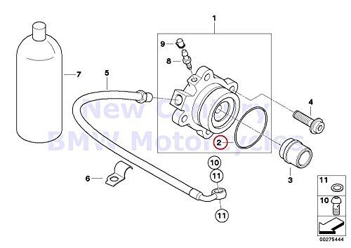 BMW Genuine Motorcycle Clutch Control O-Ring K1200S K1200R K1200R Sport K1200GT by BMW