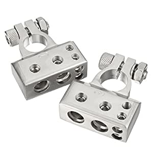 wanheyao car battery terminal gauge cable connector clamps. Black Bedroom Furniture Sets. Home Design Ideas