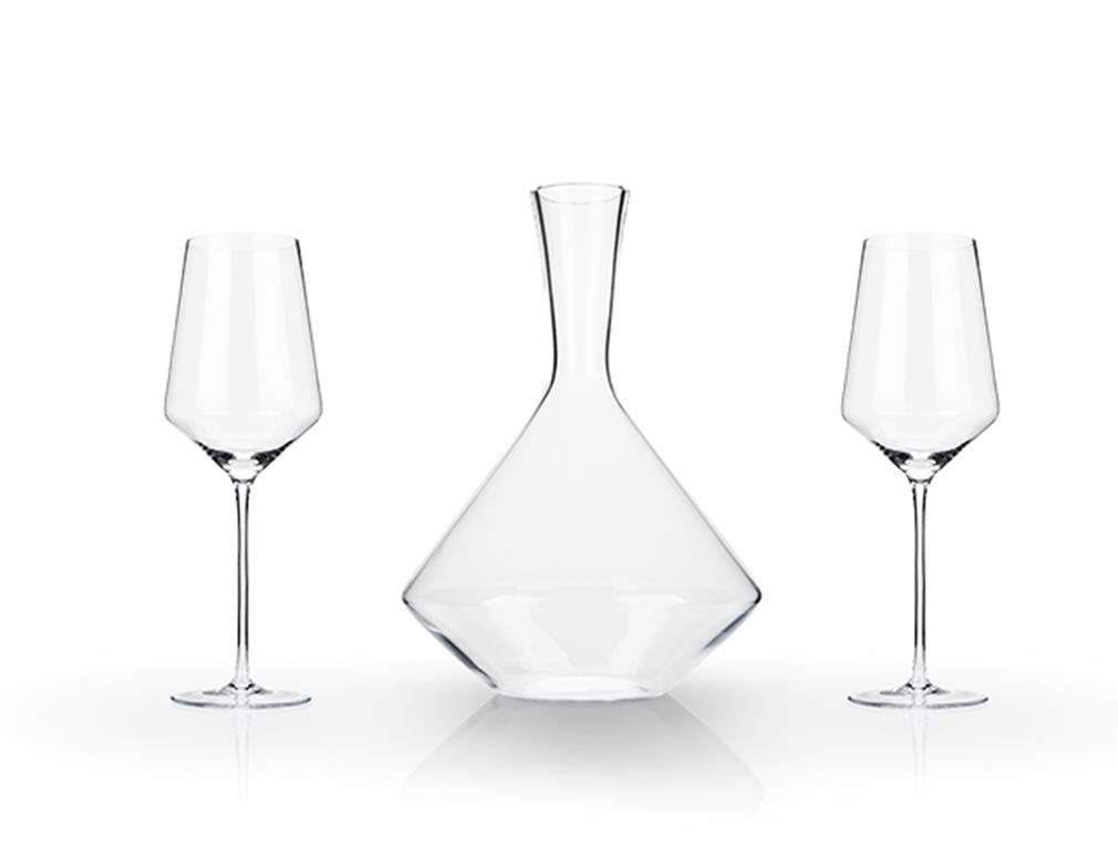 Viski 5208 Raye Bordeaux Gift Set Decanter,