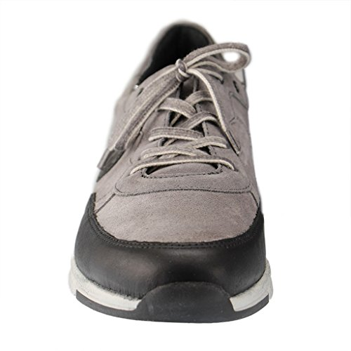 Romika Tabea 04 - zapatilla deportiva de piel mujer gris