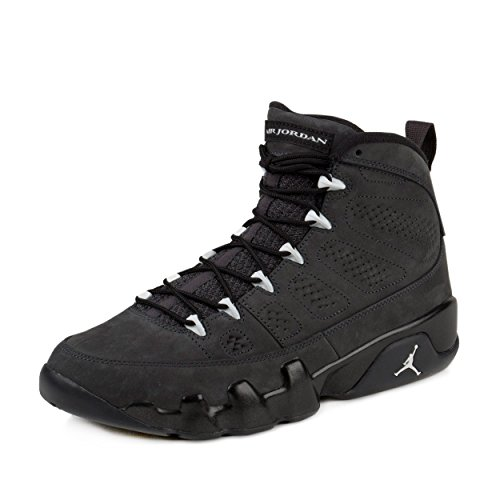 Nike Jordan Mens Air Jordan 9 Retro Anthracite/White/Black Basketball