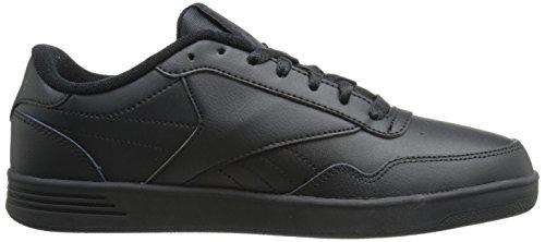 Reebok Mens Club Memt Classic Sneaker Nero / Grigio Solido