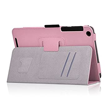 Exact Asus Memo Pad 7 Me176cx Case [Pro Series] - Professional Folio Case For Asus Memo Pad 7 (Me176cx) Light Pink 5