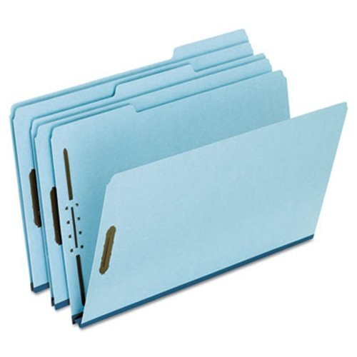 Legal File Folders, Blue, PK 25 by Pendaflex