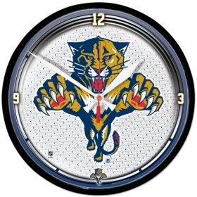 Florida Panthers Clock - NHL 2911612 Florida Panthers Round Wall Clock, 12.75