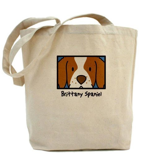 Anime Brittany spaniel Tote bag Tote bag by Cafepress by Cafepress