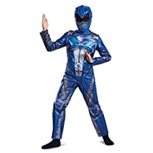 Disguise Costumes Ranger Movie Classic Costume, Blue, Small (4-6)