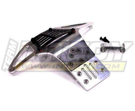 Integy RC Model Hop-ups T7935SILVER Type II HD Front Bumper for Traxxas 1/10 Electric Slash 2WD