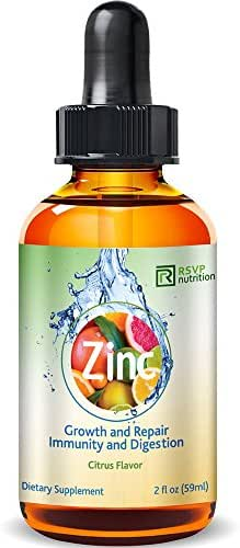 Vitamin Zinc Liquid Drops | Support Healthy Immune System Functions | Highly Absorbable | Dietary Supplement | Glass Bottle (4)