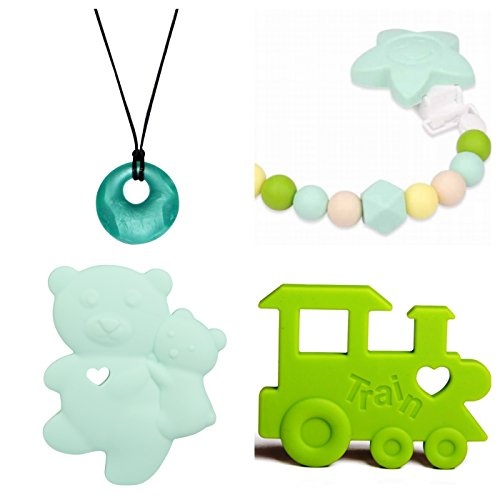 Silicone Baby Registry Chewbeads Christmas