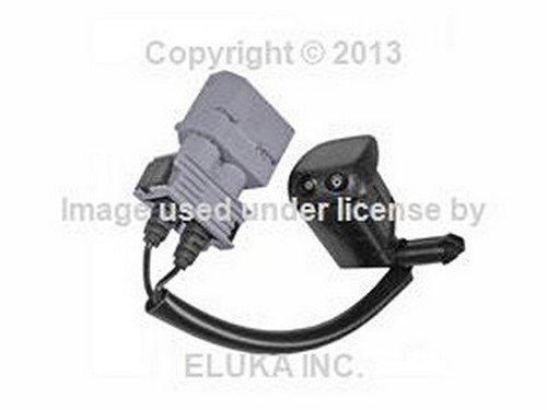(BMW OEM Windshield Washer Nozzle (Heated) E32 E34 E36 Z3 61 66 8 350 355 735i 735iL 740i 740iL 750iL 525i 530i 535i 540i M5 3.6 318i 318is 320i 325i 325is 328i M3 M3 3.2 Z3 1.9 Z3 2.8 Z3 3.0i Z3 M3.2)