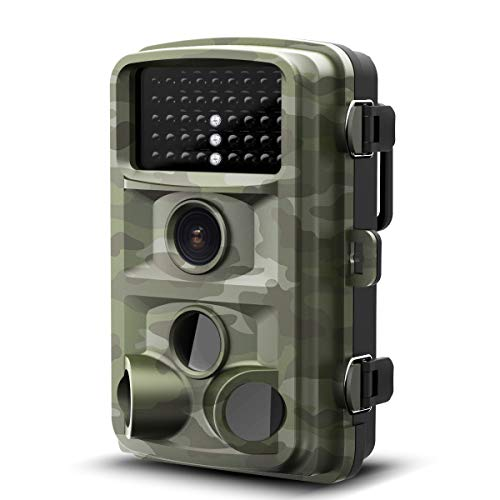 "42 Lcd Display 1080p (【New Version】 Vigorun Trail Game Camera 14MP 1080P HD with No Glow Night Vision Motion Activated 120° View 2.4"" LCD Screen Waterproof Deer Wildlife Scouting Camera for Hunting and Home Security)"