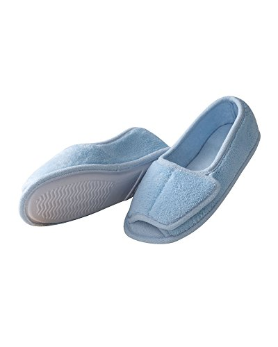 National Slipper Terry Blue Slippers Slippers Terry Slipper National Blue Hqt8ZE0