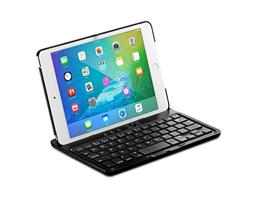 Spigen KIPM4W iPad Mini 4 Keyboard Case with Bluetooth Wireless Connection for iPad Mini 4 / Only compatible with 2015 iPad Mini model