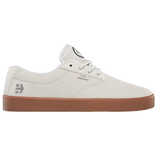 Etnies Mens Jameson SL X Flip Shoes Size 8.5 White/Gum