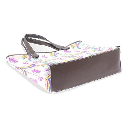 Large Shoulder Handle Ladies Bennigiry Unicorn Women Patern Bags Top Tote Handbag 5Xxxw6IBq