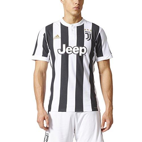 2017-2018 Adidas Juventus Home Jersey (White/Black) (XXL) – DiZiSports Store