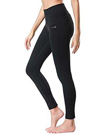 2c98360fc3a5 Dragon Fit Compression Yoga Pants Power Stretch Workout Leggings with High  Waist Tummy Control