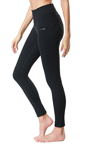 Dragon Fit Compression Yoga Pants Power Stretch Workout Leggings With High Waist Tummy Control, 02black, Medium ()