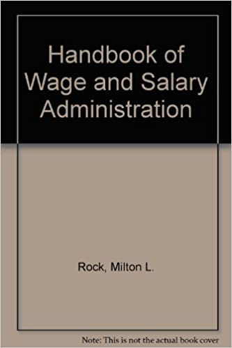 Wage And Salary Administration Ebook