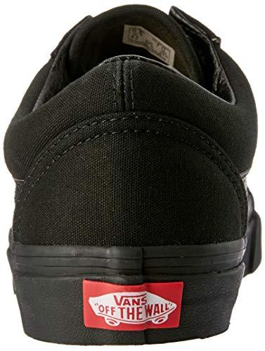 Zapatillas Skool Old black Unisex Negro Adulto Canvas black De Classic Canvas Vans Lona x6IwOqx4
