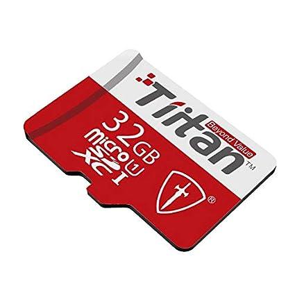 TIITAN 32  GB Class 10 MicroSDXC Memory Card  32 GB