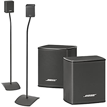 bose virtually invisible 300 wireless surround speakers w ufs 20 floor stands. Black Bedroom Furniture Sets. Home Design Ideas