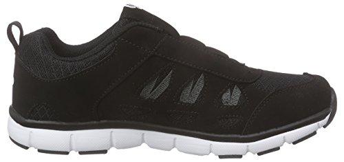 Bruetting Spiridon Fit Slip in - Sneaker Infilare Unisex Adulto, Nero (Schwarz/Weiss), 36 EU