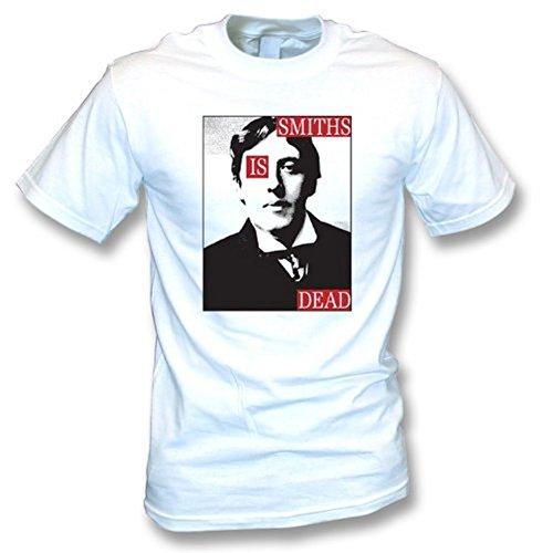 TshirtGrill Smith ist tot, wie abgenutzt durch Morrissey-T-Shirt, Farbe- Weiß